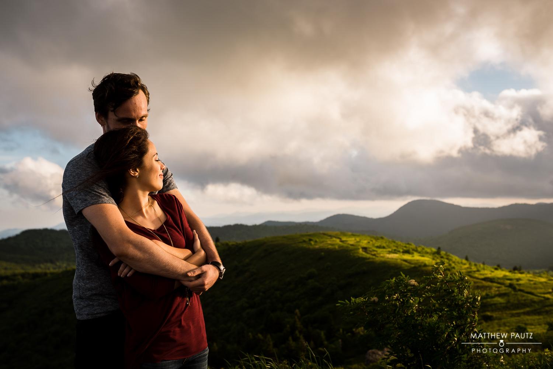 Blue Ridge Mountain Engagement Photography