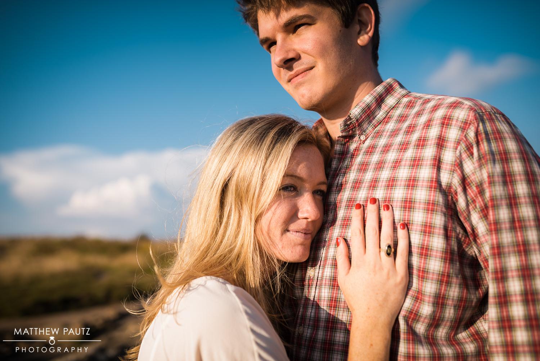 Black Balsam Knob Engagement Photo