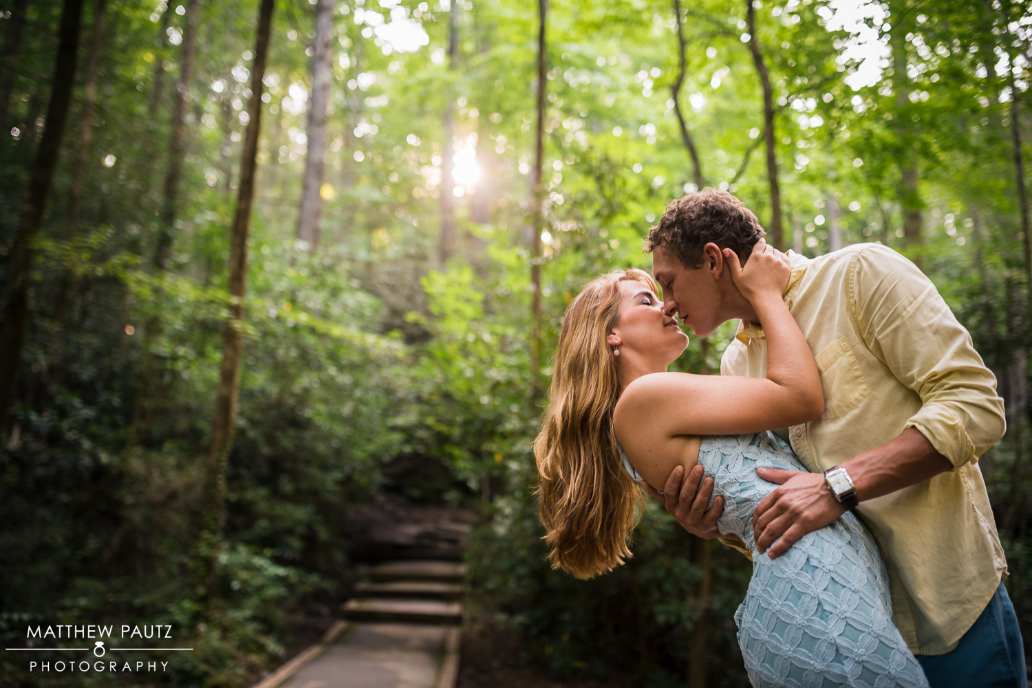 Table Rock engagement photo