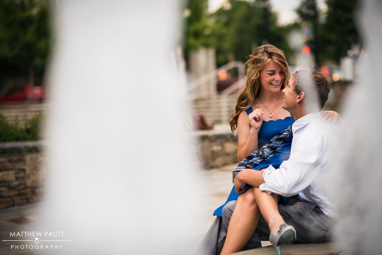 Greenville engagement photos