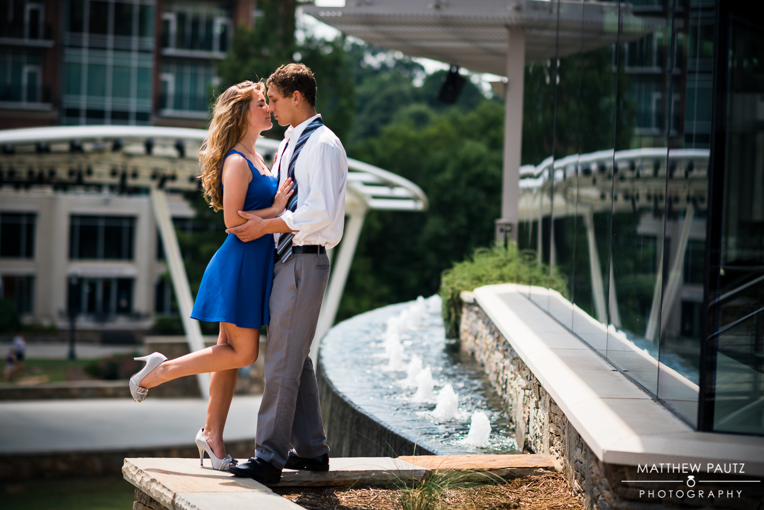 Greenville engagement photos