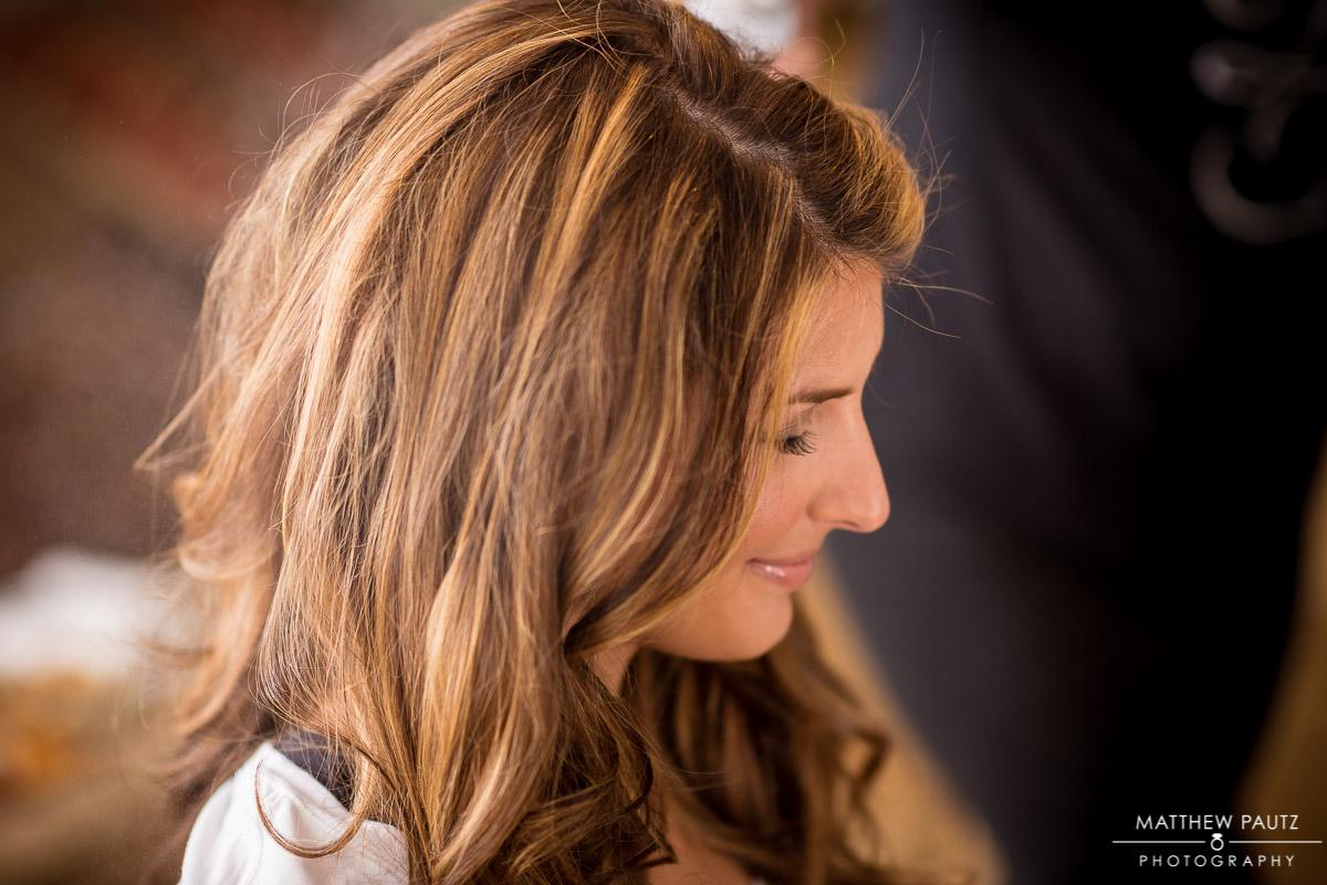Bride Hair and Makeup Wedding Photos