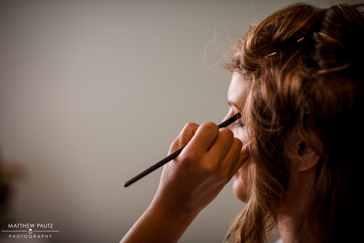 Bride Hair and Makeup Wedding Photos