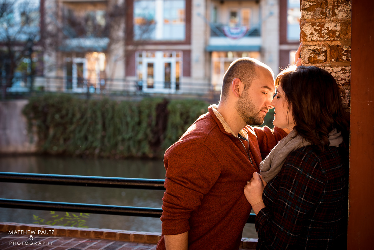downtown Greenville Engagement Photos