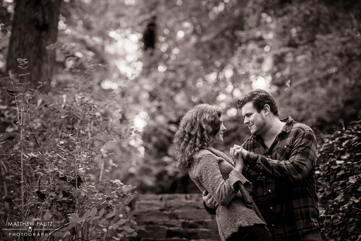 Falls Park Engagement Photos - Greenville