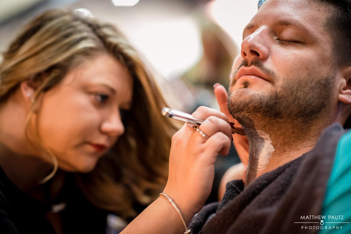 Frank's Gentlemen's Salon Hot Shaves