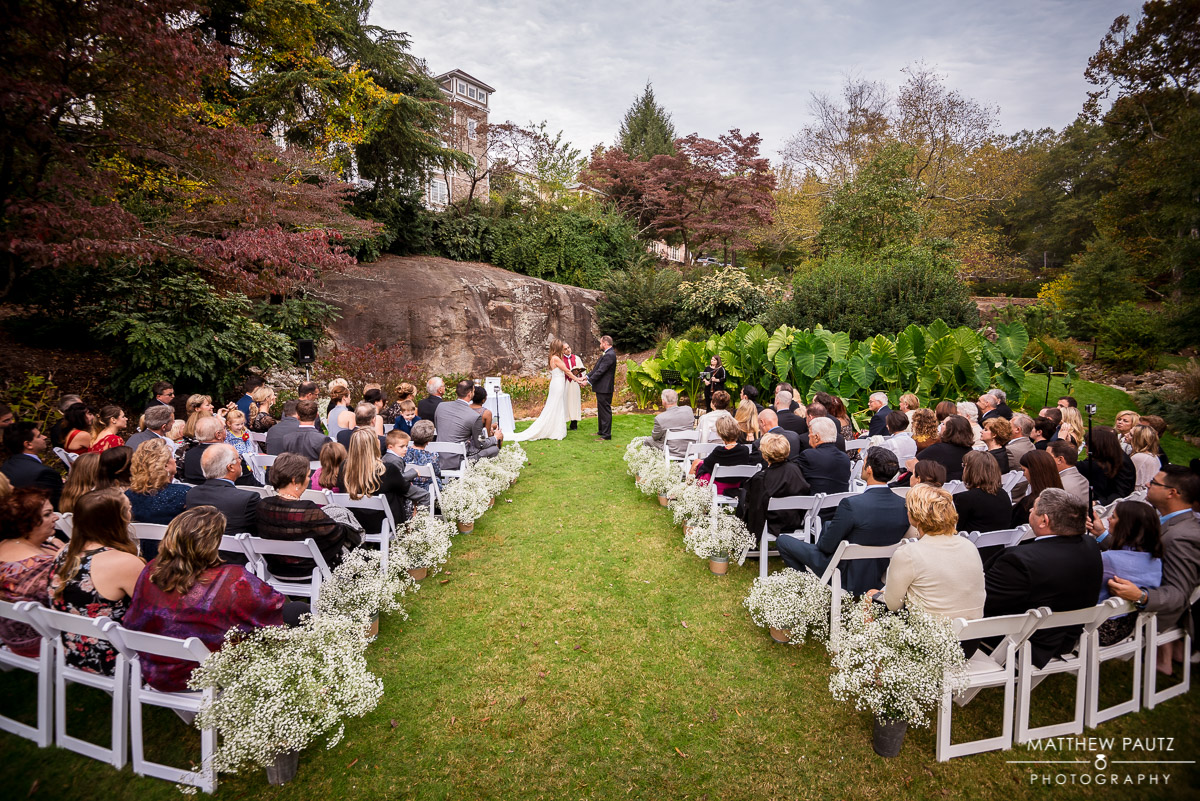 The Rock Quarry garden greenville wedding photos
