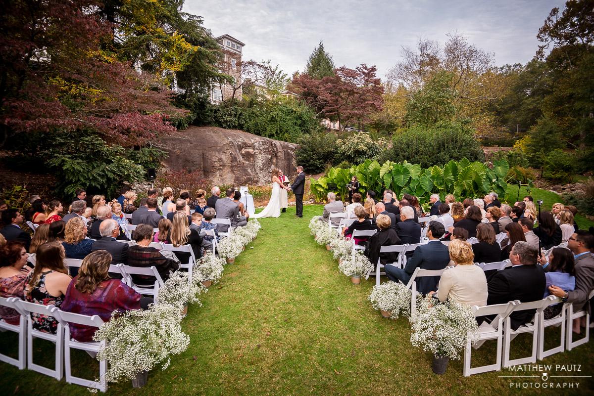 The Rock Quarry garden greenville wedding photos