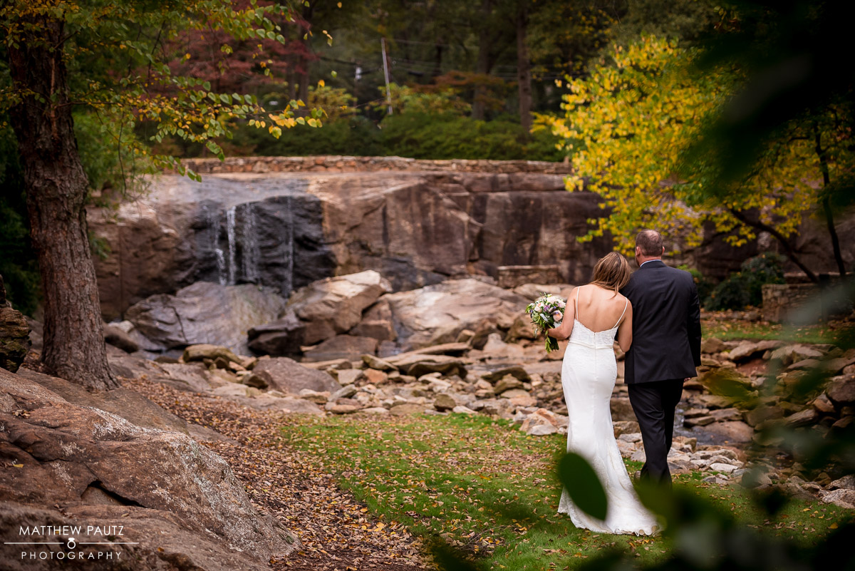 Wedding at the Rock Quarry