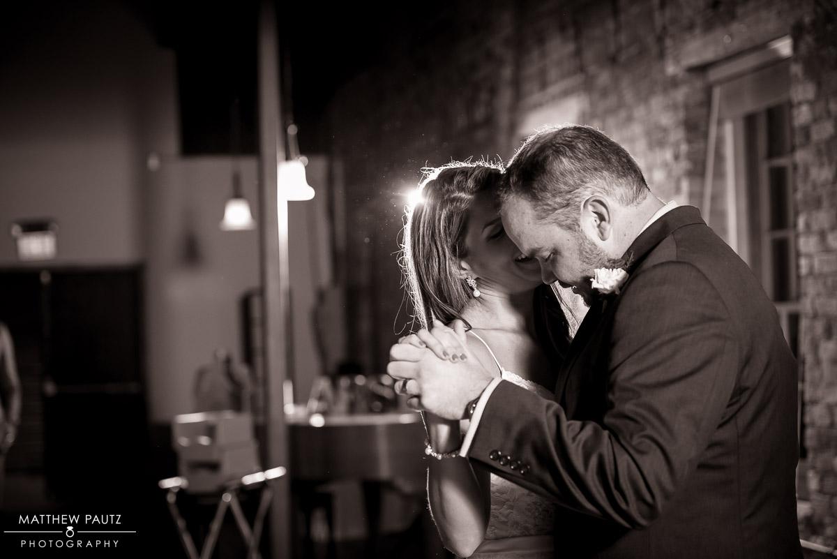 Wedding photos at Larkin's Cabaret Room
