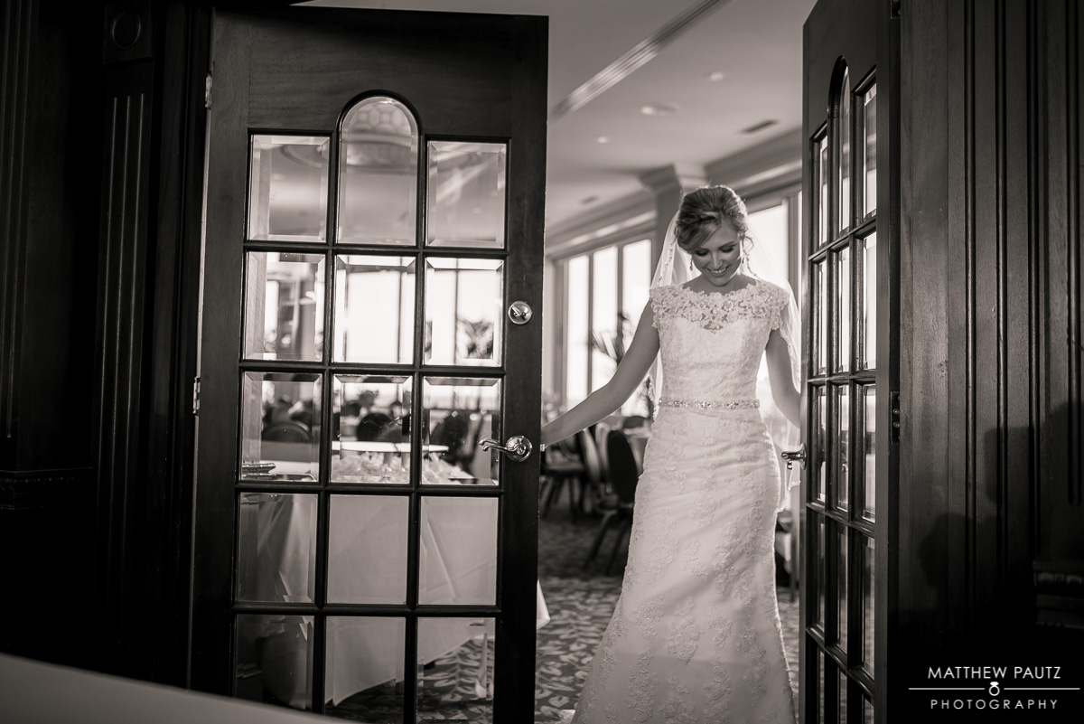 Bridal photos at The Commerce Club Greenville