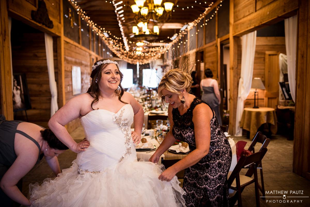 Wedding Photos taken at The Lindsey Plantation Greenville