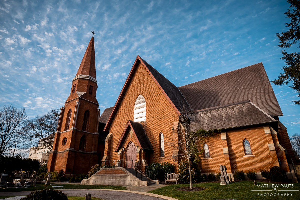 Wedding Photos at Christ Church Greenville SC
