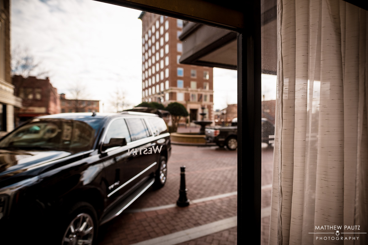 Greenville SC Wedding Photos at The Westin Poinsett Hotel