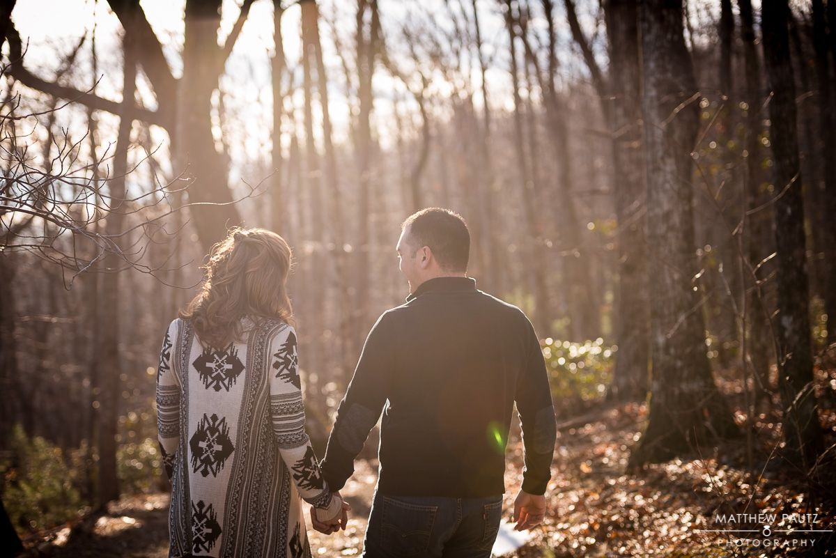 Pretty Place Engagement Photos