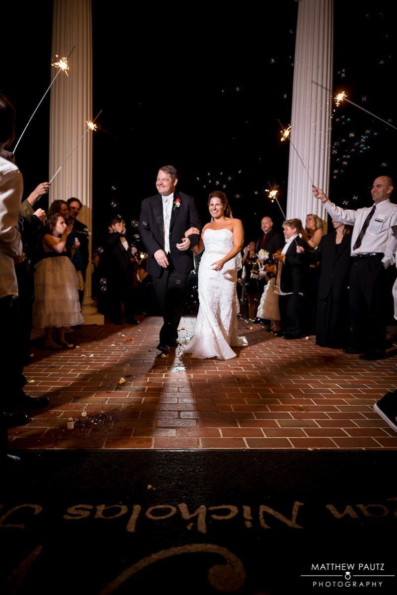 Wedding Reception Photos taken at Ryan Nicholas Inn