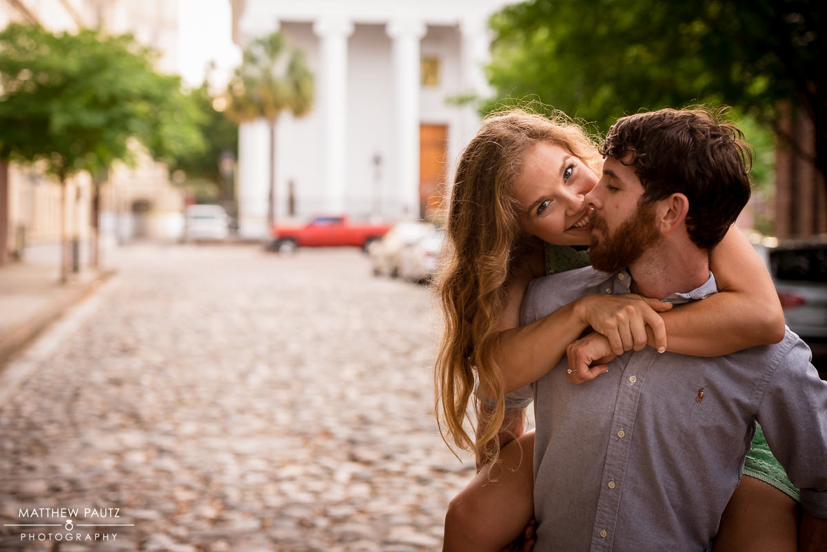 Downtown Charleston Engagement Photos | Charleston Engagement Photographer